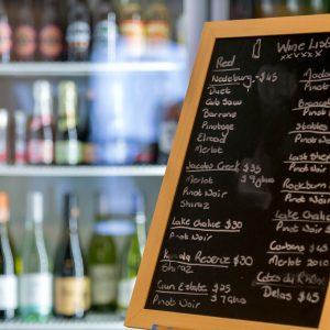 Wine List - Foveaux Hotel